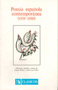 Poesia-espanola-contemporanea-1939-1980,-Alhambra,-1981